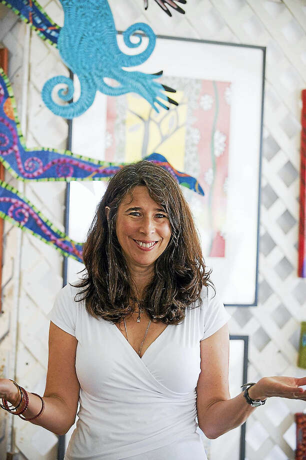Artist Danielle Mailer is the Women's Forum of Litchfield's guest in April. Photo: Photo By Steve Sussman