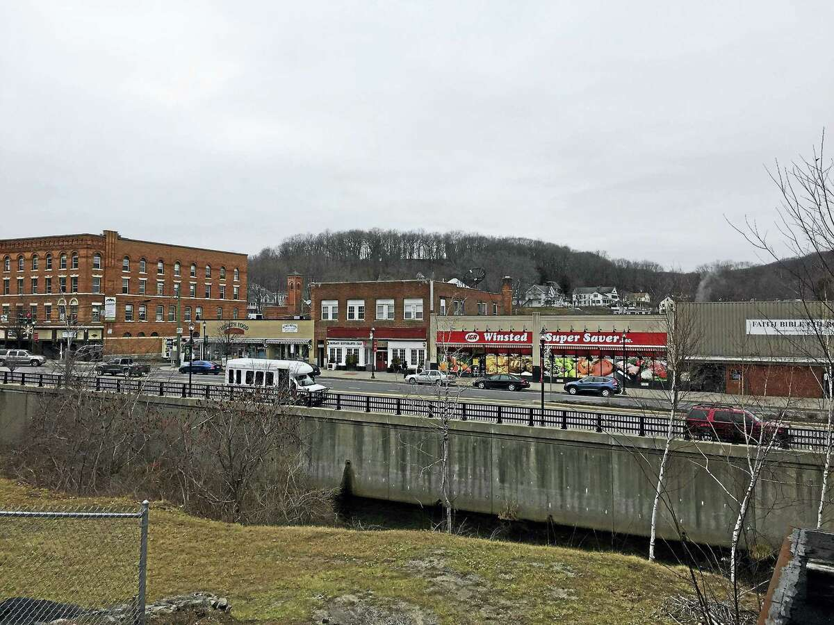 Above, a view of downtown Winsted. The town's Grand List is reflecting an increase of 2.8 percent, according to the Board of Selectmen.
