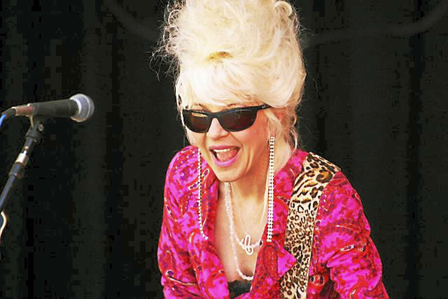 Photo by Dom ForcellaChristine Ohlman, aka the Beehive Queen, and Rebel Montez will perform at the Katharine Hepburn Cultural Arts Center, on Sunday. Photo: Digital First Media