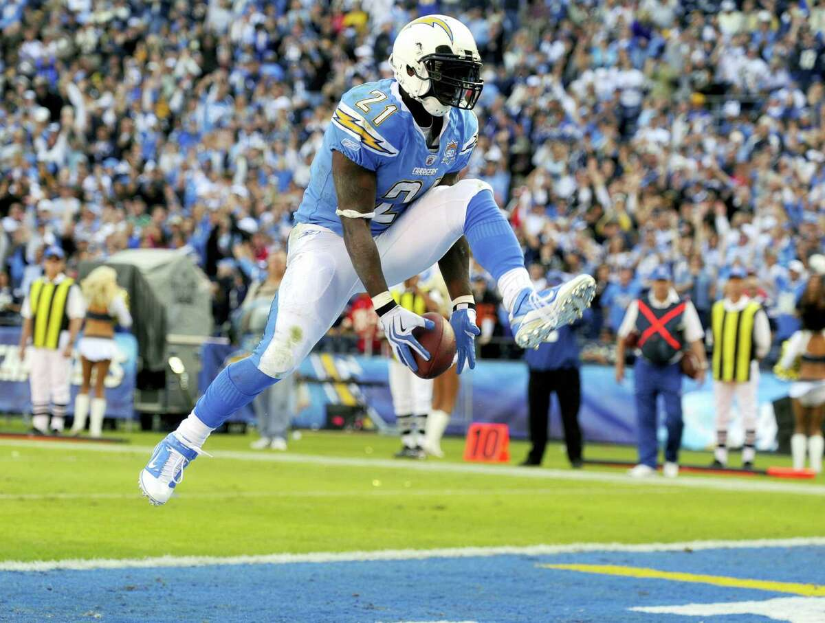 Former San Diego Chargers running back LaDainian Tomlinson was elected to the Pro Football Hall of Fame on Saturday.