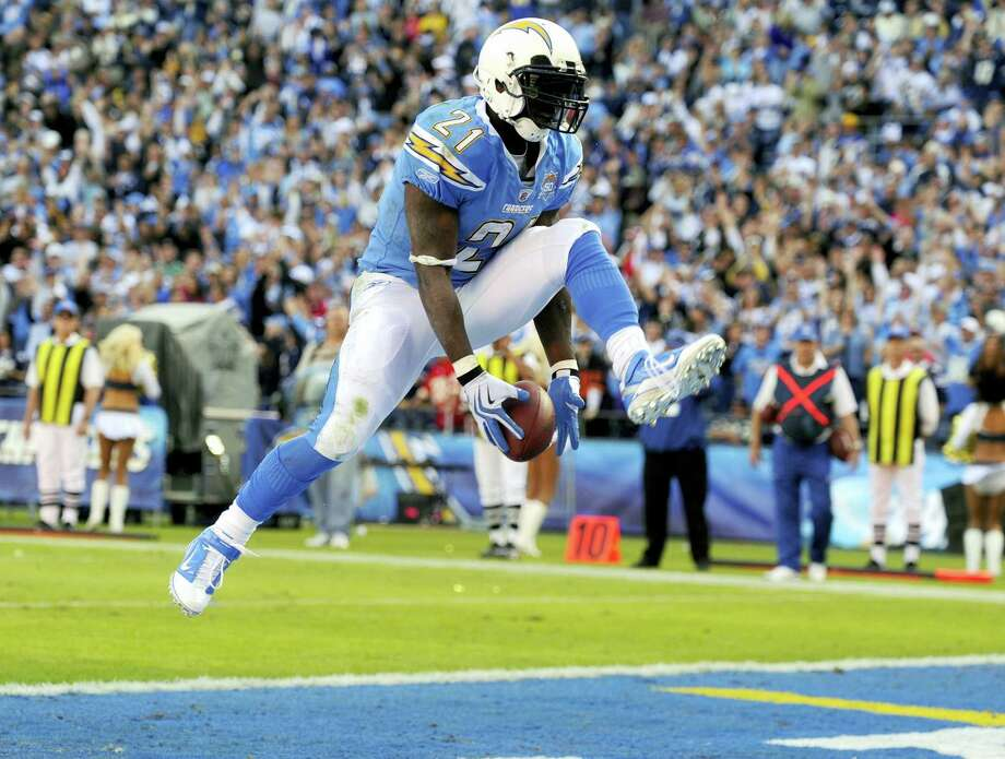 Former San Diego Chargers running back LaDainian Tomlinson was elected to the Pro Football Hall of Fame on Saturday. Photo: Chris Carlson — The Associated Press File  / Copyright 2017 The Associated Press. All rights reserved.