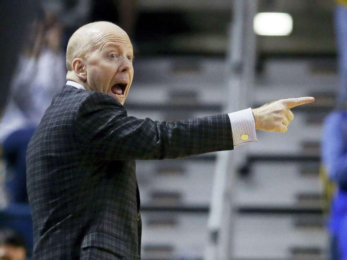 Cincinnati men's basketball coach Mick Cronin.