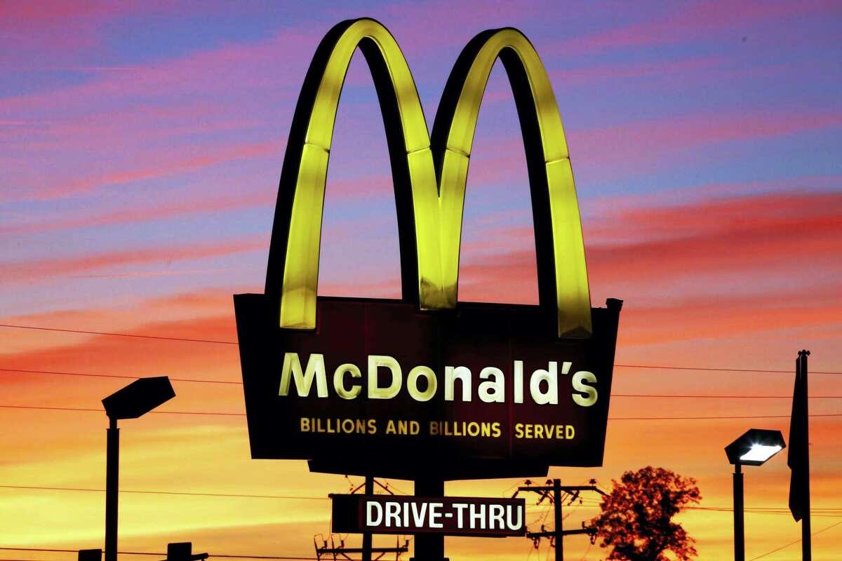 A McDonald's in Ebensburg, Pa.