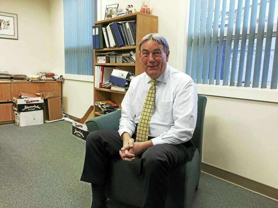 Larry Cassella, the chief executive of LARC in Torrington, is set to retire in June. Photo: Ben Lambert — The Register Citizen