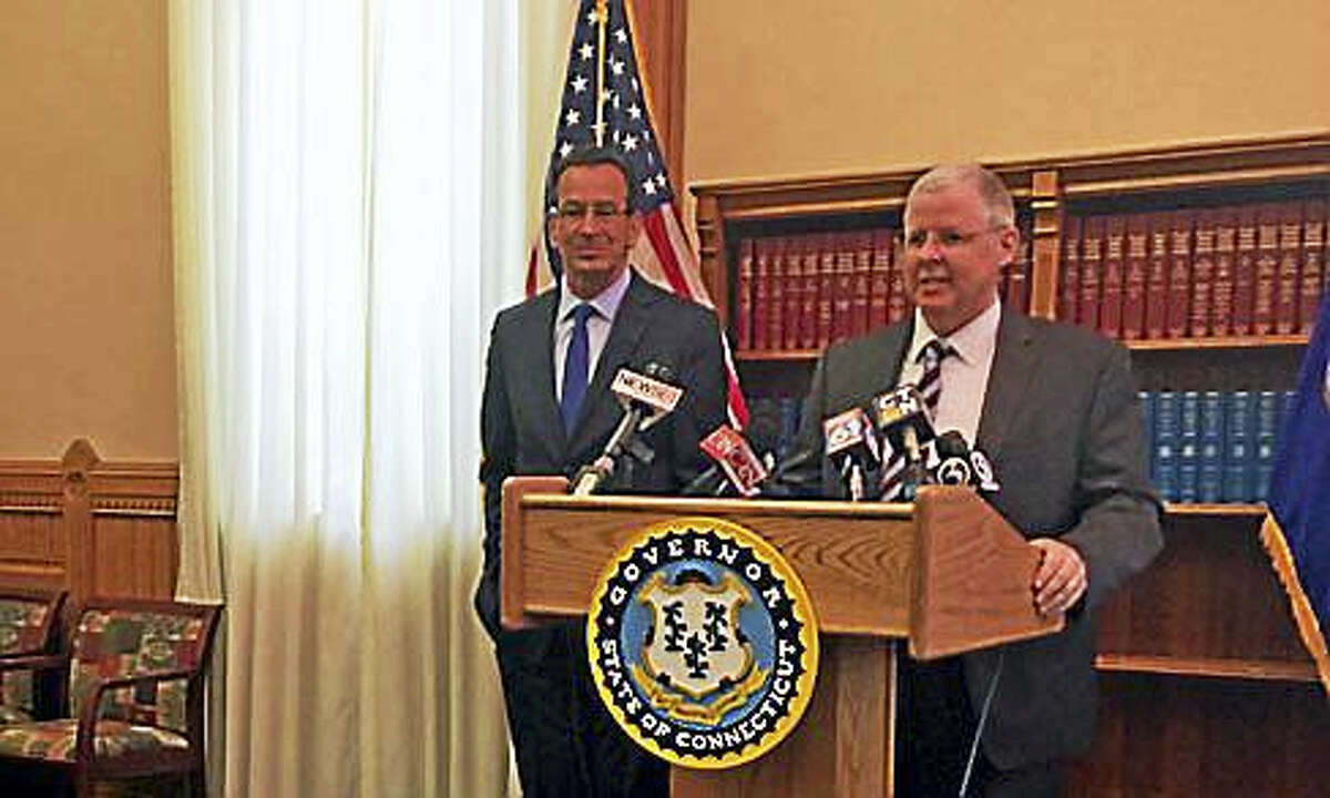 Gregory D'Auria being nominated by Gov. Dannel P. Malloy Wednesday