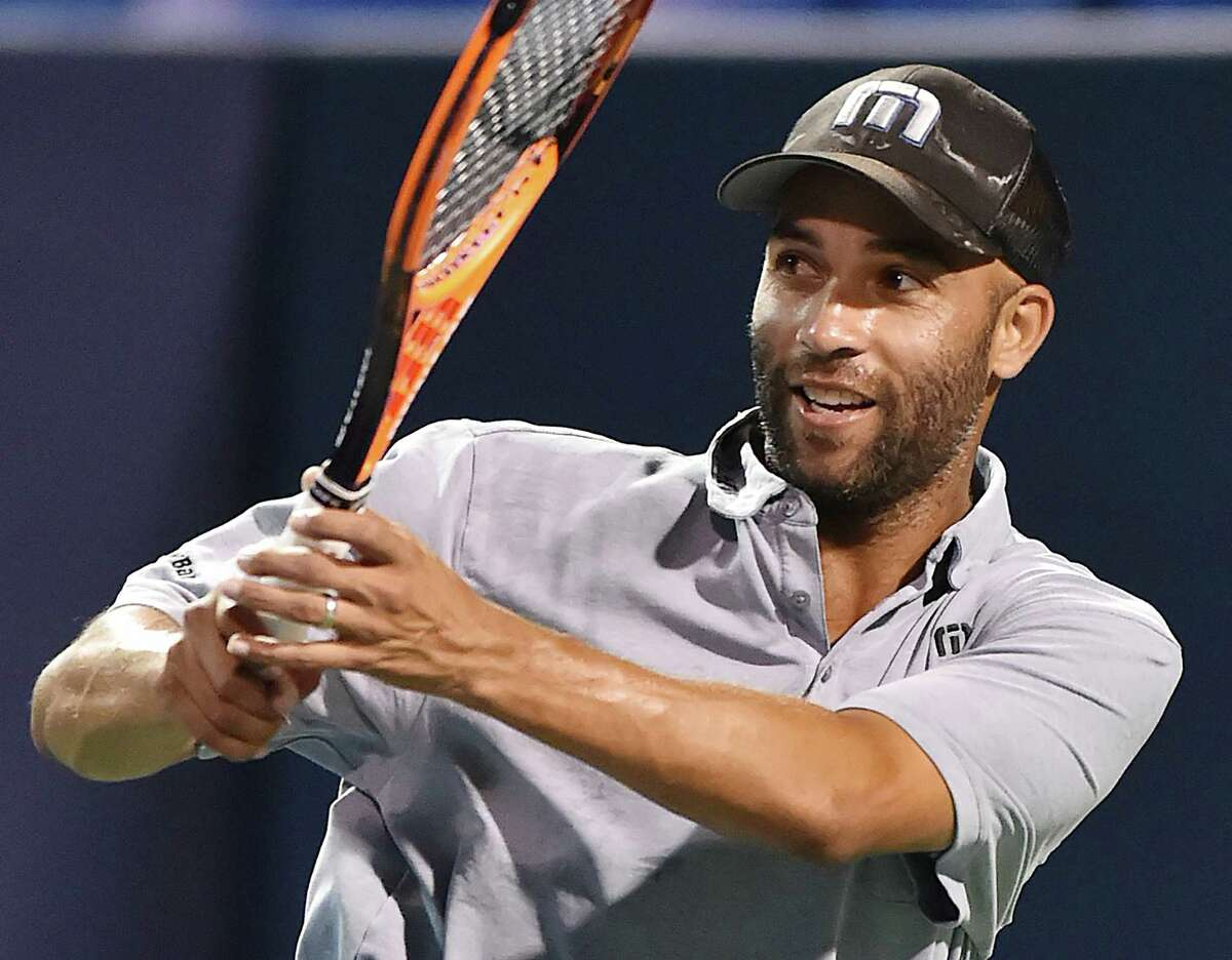James Blake- Fairfield Warde High School Blake won 366 tennis matches during his career and ten titles, but perhaps the coolest fact about Blake is that he and musician John Mayer were best friends at then-Fairfield High School.