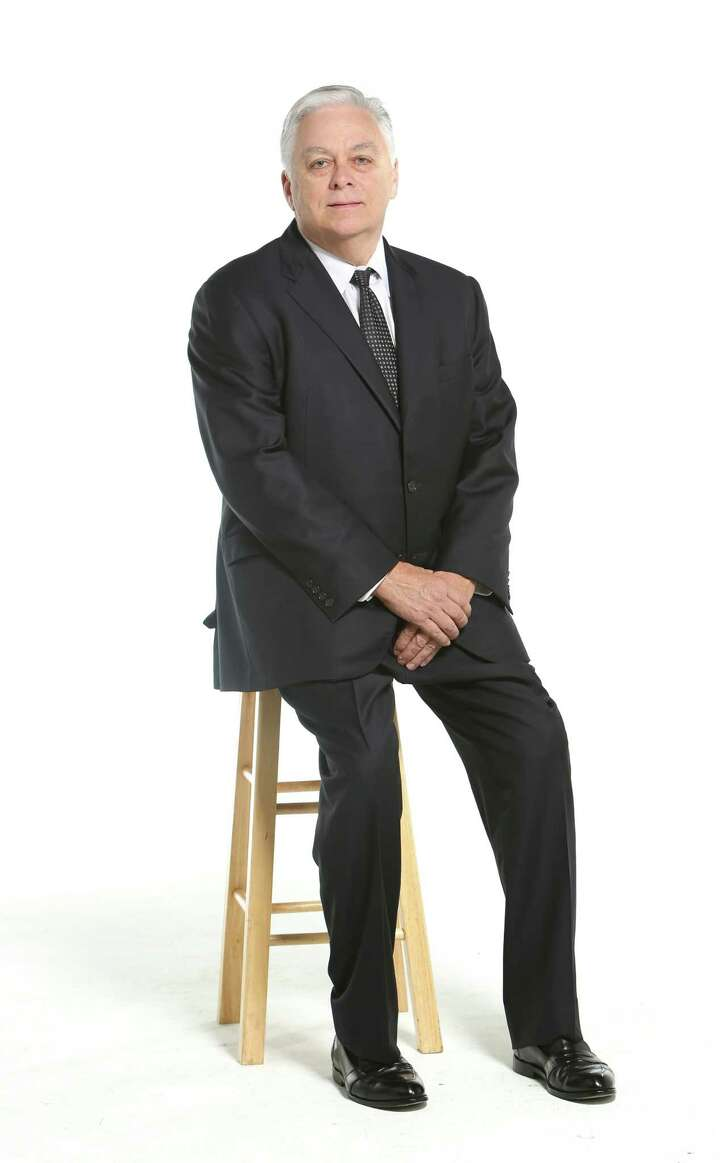 Steve Chandler, city partner and senior vice preident for the Houston office of commercial real estate firm Weitzman, poses for a portrait in the Houston Chronicle photo studio, Thursday, July 27th, 2017. (David Funchess / Houston Chronicle)