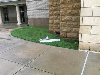 Fort Bend high school damaged in Friday storms - Houston