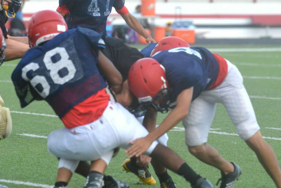 Plainview junior varsity football vs. Lubbock High scrimmage photos. Photo: Skip Leon/Plainview Herald