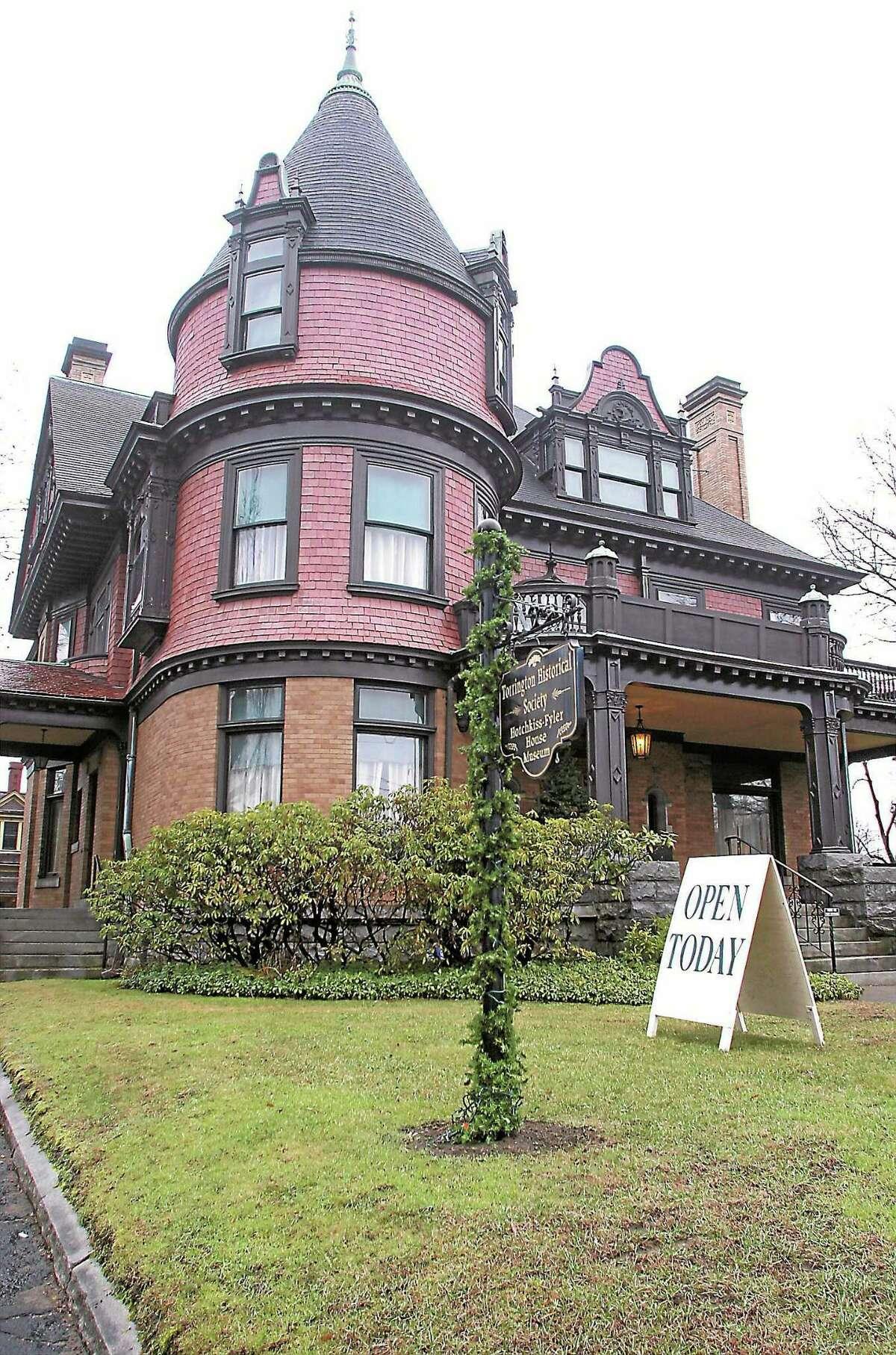 The Hotchkiss-Fyler house.