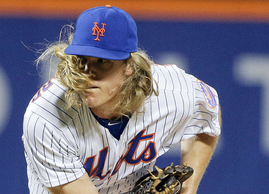 New York Mets pitcher Noah Syndergaard delivers against the Chicago White Sox during the seventh inning of the White Sox' win Tuesday. Photo: JULIE JACOBSON — THE ASSOCIATED PRESS  / AP