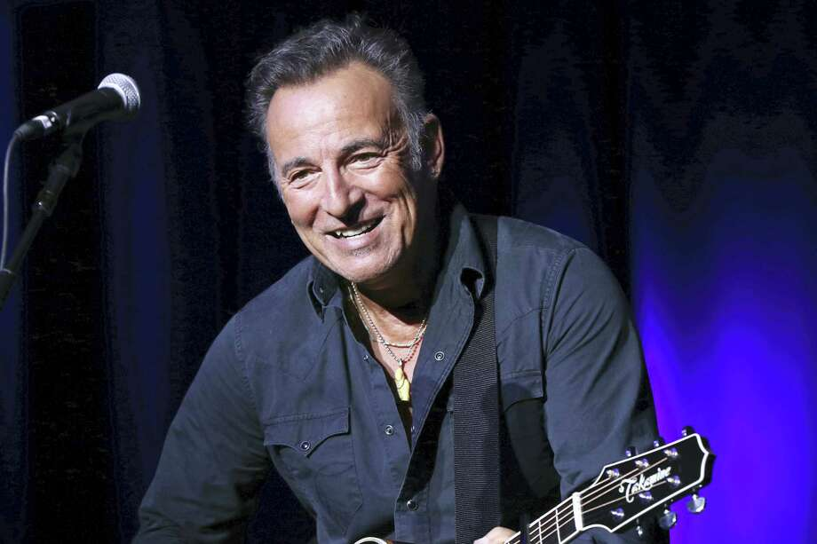 """In this Nov. 10, 2015, file photo, Bruce Springsteen performs at the 9th Annual Stand Up For Heroes event in New York. A Philadelphia fifth-grader ditched school for the chance to meet the rock legend at his book signing Thursday, Sept. 30, 2016, and The Philadelphia Inquirer reports """"The Boss"""" gladly played along by signing the boy's absence excuse note. Photo: Photo By Greg Allen/Invision/AP, File   / Invision"""