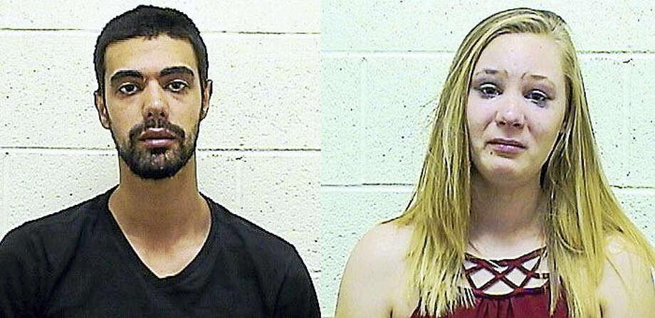 Mohammed Daifalla and Nicole Rinaldi Photo: Courtesy Torrington PD
