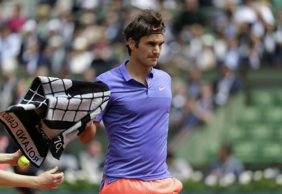 Roger Federer defeated Damir Dzumhur in the third round of the French Open on Friday at the Roland Garros Stadium in Paris. Photo: Thibault Camus — The Associated Press  / AP