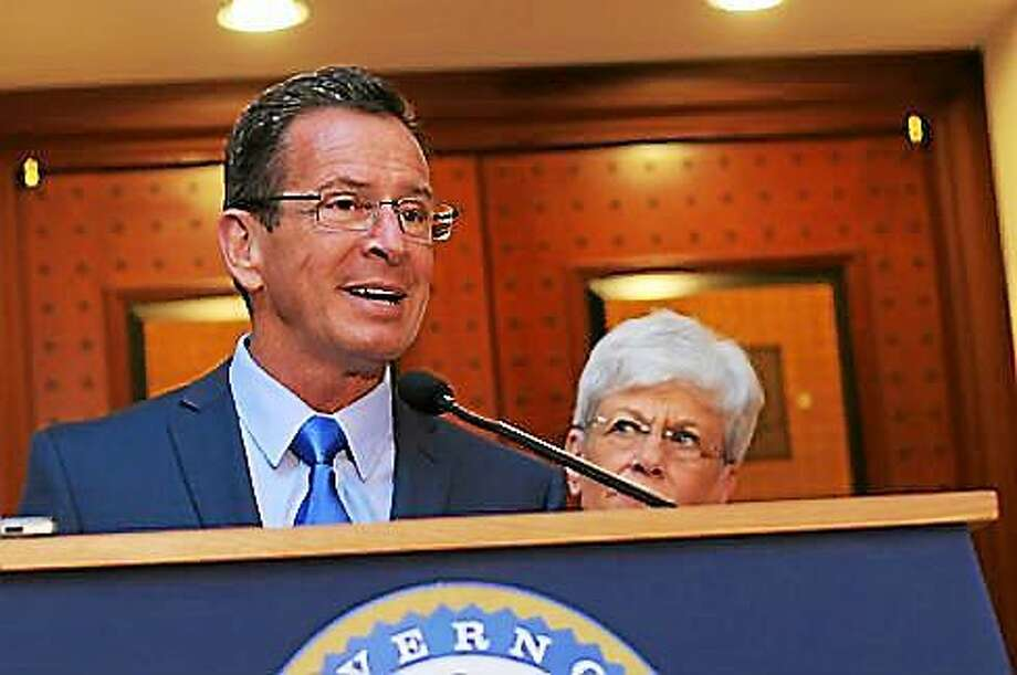 Gov. Dannel P. Malloy and Lt. Gov. Nancy Wyman Photo: Christine Stuart — CTNewsJunkie File Photo
