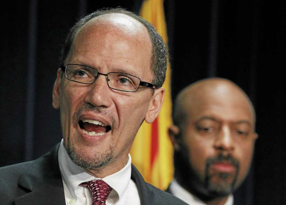 U.S. Secretary of Labor Thomas E. Perez Photo: AP Photo/Ross D. Franklin, File  / AP