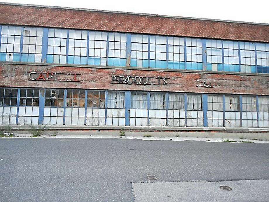 The former Capitol Products building, at 35 Williow St. in Winsted. Photo: Register Citizen File Photo