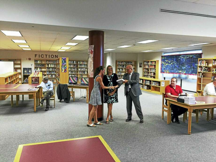 Ben Lambert - The Register Citizen  The school community recently recognized the 2017 Torrington Teachers of the Year, presenting educators with plaques in their honor. Photo: Journal Register Co.