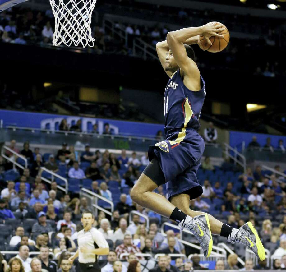 New Orleans Pelicans' Bryce Dejean-Jones was fatally shot after breaking down the door to a Dallas apartment on Saturday. Photo: The Associated Press File Photo  / AP
