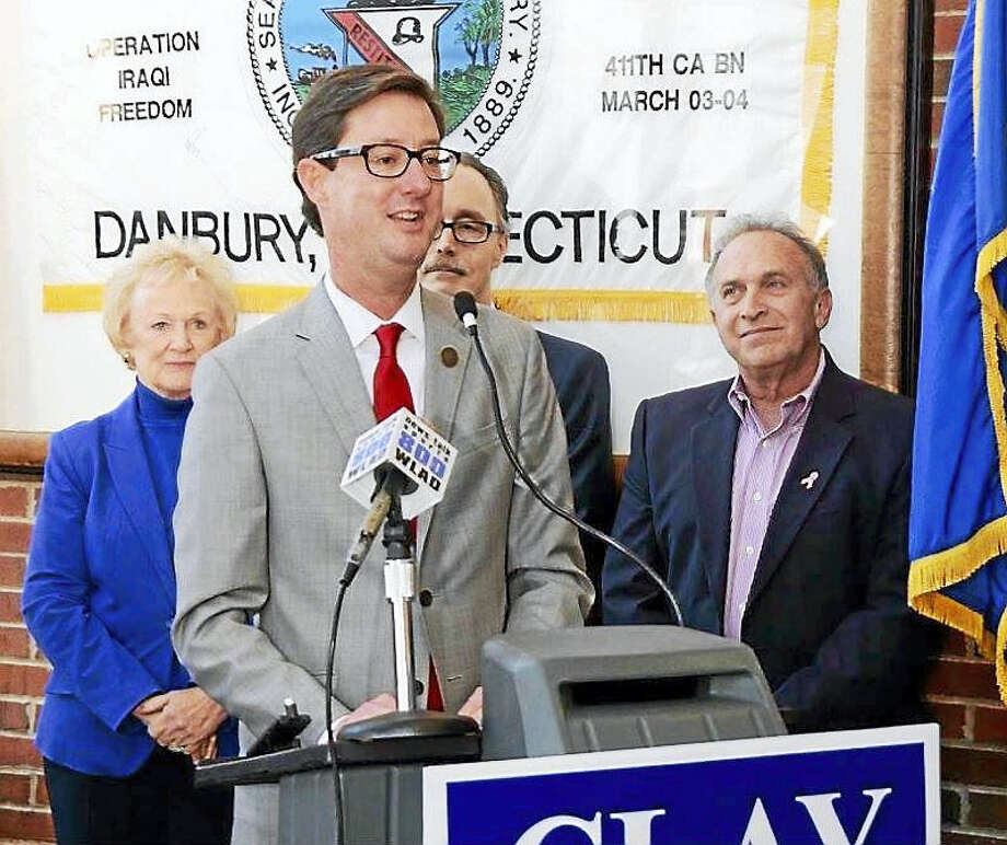 Clay Cope announces his candidacy. Photo: Contributed Photo Via CTNJ