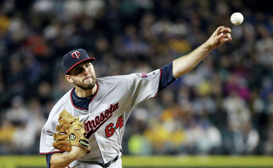 Naugatucks' Pat Dean had made the most of his first promotion to the big league's with a 3.86 ERA in his first three outings. Photo: Elaine Thompson — The Associated Press  / Copyright 2016 The Associated Press. All rights reserved. This material may not be published, broadcast, rewritten or redistribu