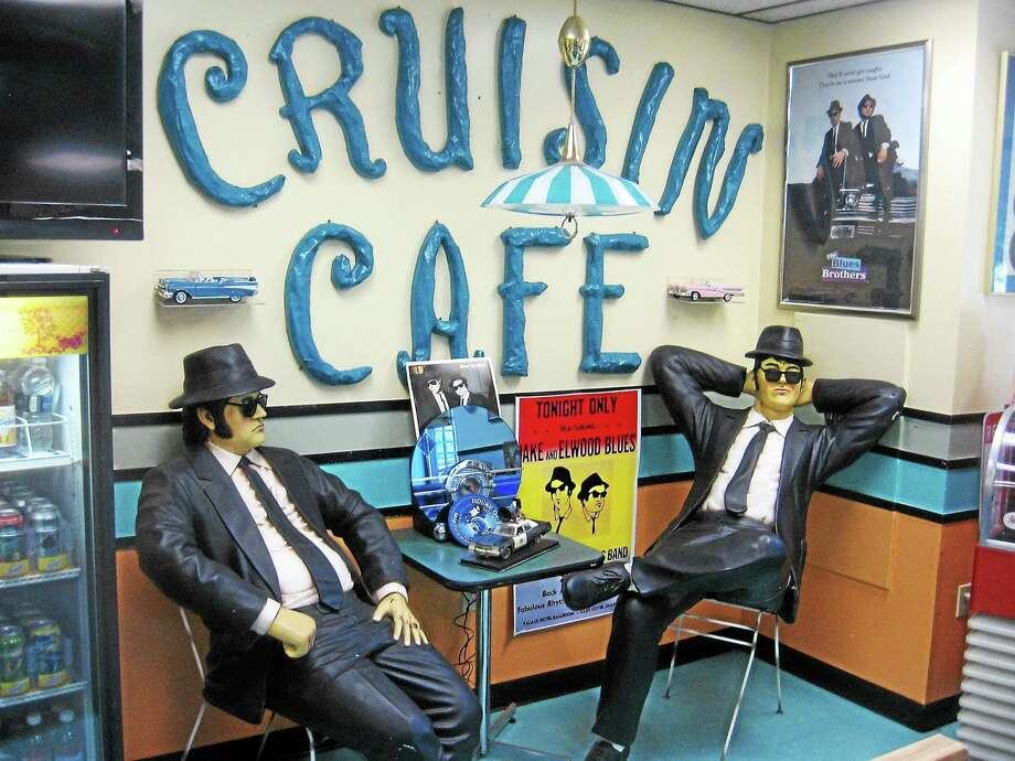 Blues Brothers at the cafe. Photo: Photo By John Torsiello
