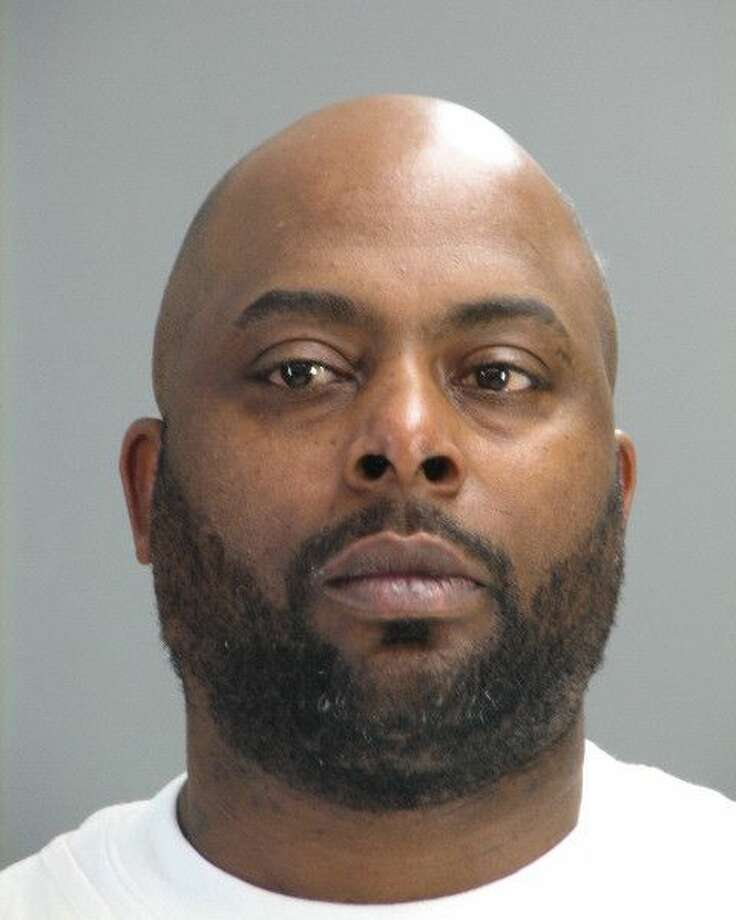 This photo provided by Dover Police Department shows Marlow Holmes. Dover police say a Holmes, 39, has been arrested after officers discovered a stash of cocaine in his prosthetic leg.  Police say officers stopped Holmes as he was driving and during the stop a police dog alerted officers to the presence of narcotics in the car. A search of the vehicle,  officers discovered more than 28 grams of cocaine hidden inside a prosthetic leg on the front passenger seat.   (AP Photo/Dover Police Department) Photo: AP / Dover Police Department