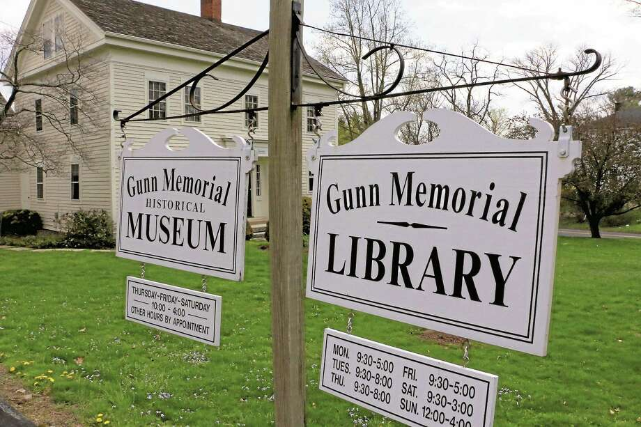 The Gunn Memorial Library and Museum. Photo: Register Citizen File Photo
