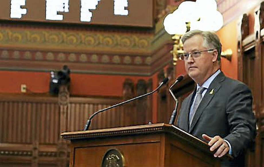 State House Speaker Brendan Sharkey Photo: Christine Stuart Photo Via CTNJ