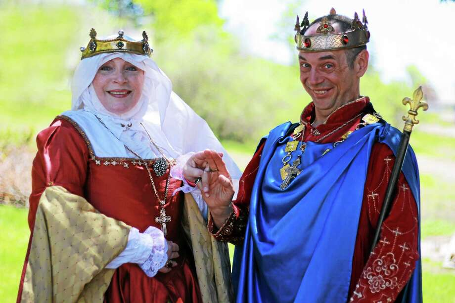 Photos courtesy of The Connecticut Renaissance Faire Costumed players of every description greet guests at the Robin Hood Spring Festival at the North Haven Fairgrounds. Photo: Journal Register Co.