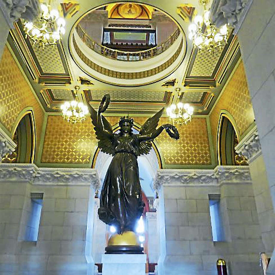 Genius of Connecticut statue Photo: Journal Register Co.