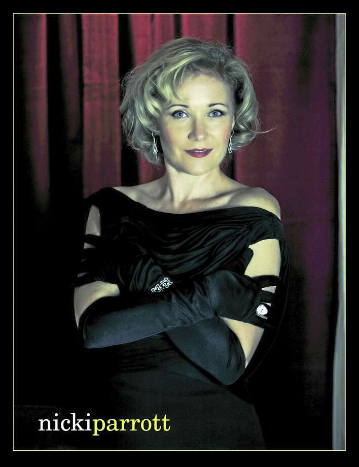 Contributed photoJazz singer Nicki Parrott performs at the Poli Club in February. Photo: Journal Register Co.