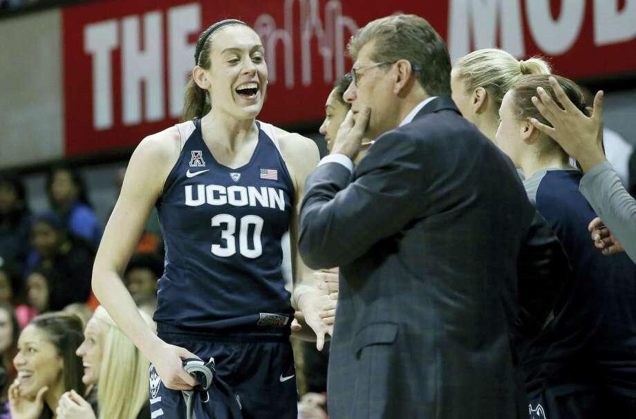 UConn forward Breanna Stewart. Photo: The Associated Press File Photo  / AP
