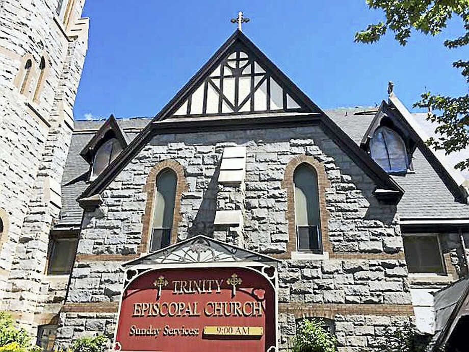Contributed photo Trinity Episcopal Church on Prospect Street in Torrington will celebrate the completion of its roof repair project Sunday, Oct. 2. Photo: Journal Register Co.