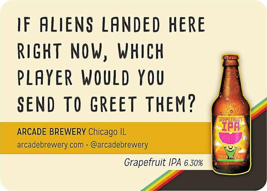 Contributed photos Image from Thinking & Drinking beer card game. Photo: Journal Register Co.