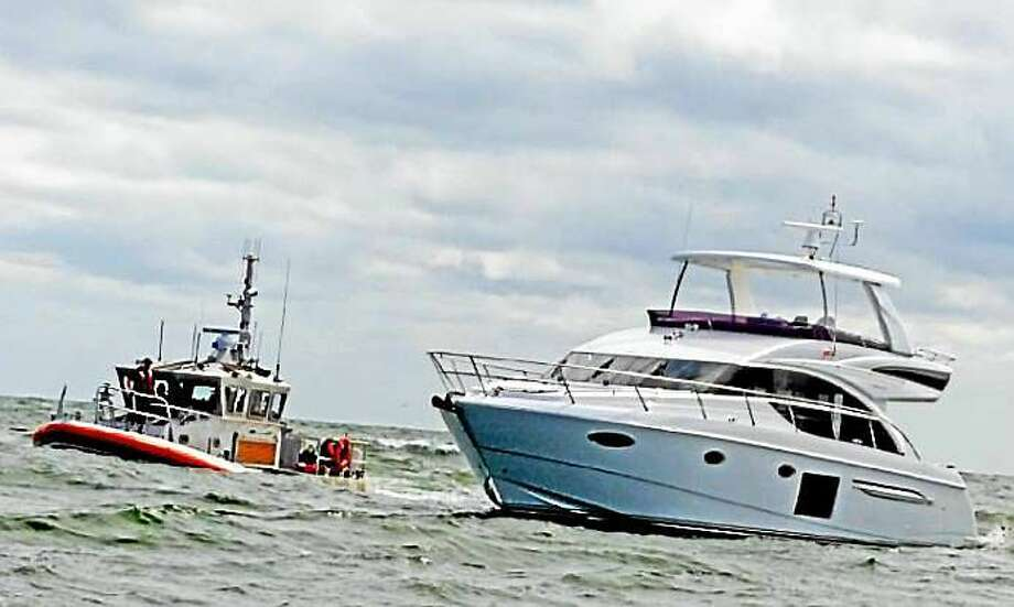 Screenshot via thewesterlysun.com: (Fatal boating accident off Watch Hill Light, Tuesday. Harold Hanka / The Westerly Sun) Photo: Journal Register Co.