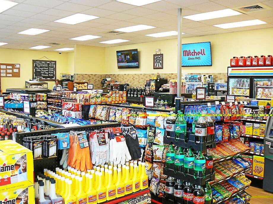 The Park Lane Sunoco Store in New Milford was recently renovated to offer easier traffic flow, expanded food options and inside improvements. Photo: Contributed Photo