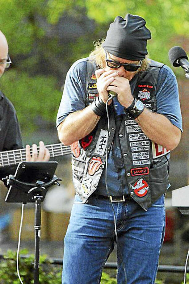 Photo by Domenic ForcellaBad News Barnes, above, will play at Black-Eyed Sally's on Saturday, Oct. 1, joined by Blue Lou Marini. Photo: Journal Register Co.
