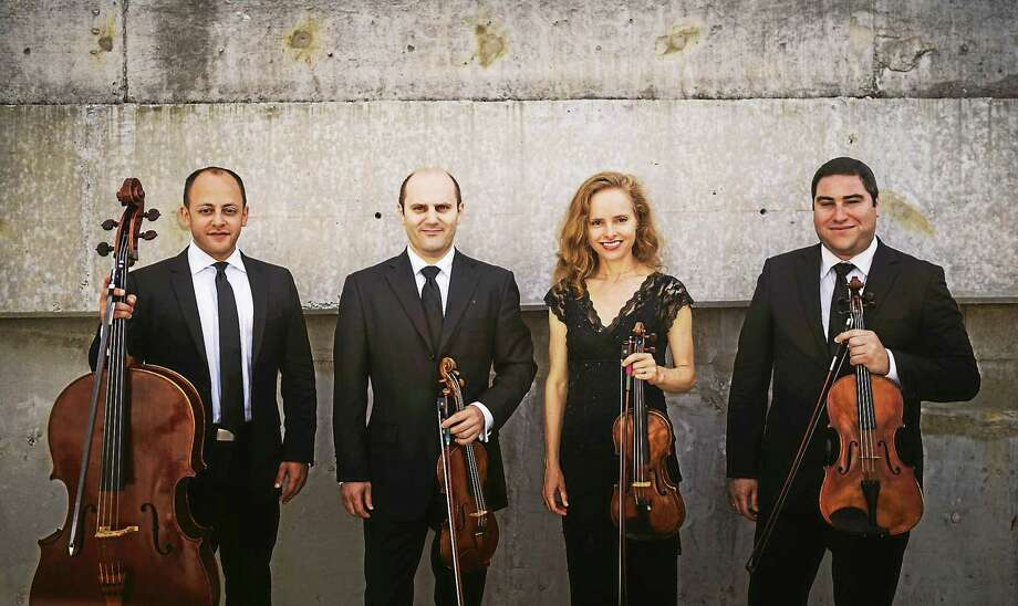 Contributed photo Amernet String Quartet wraps up the festival season at Music Mountain this weekend. Photo: Journal Register Co. / Photo: Mait Jüriado