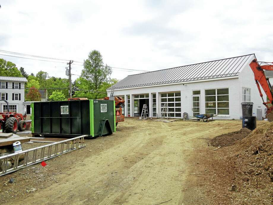 Catherine Guarnieri — Litchfield County TimesIt May not look like much right now, but by Memorial Day, the Judy Black Park & Gardens at One Green Hill is scheduled to be open to the public. Photo: Journal Register Co.
