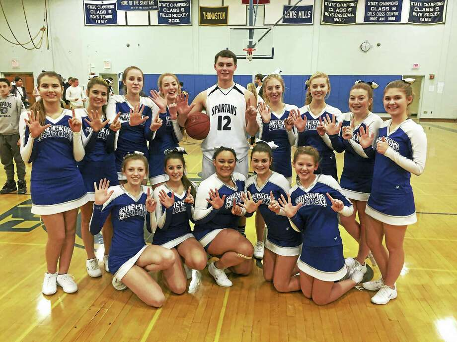 Shepaug's Ryan LaMay poured in a school-record 51 points in an 88-70 win over Housatonic at Shepaug Friday night. His total included eight 3-pointers. Photo: Photo Courtesy Of Shepaug High School