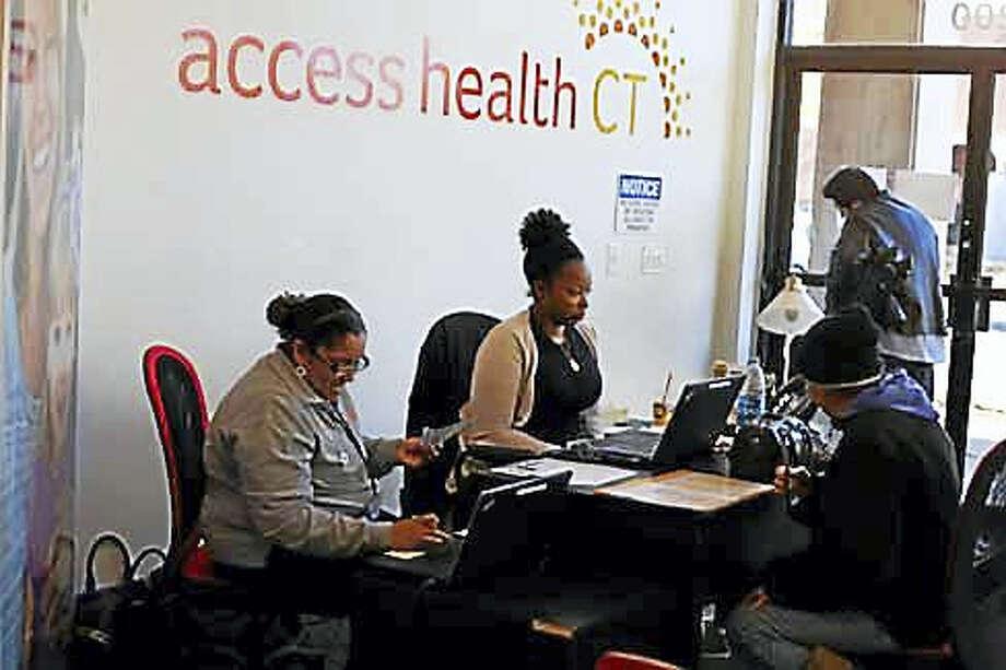 Access Health CT enrollment center in New Britain Photo: CTNewsJunkie File Photo