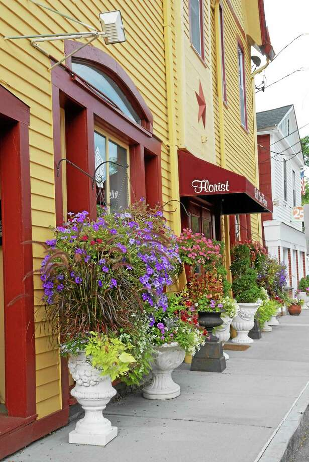 In New Milford, Ruth Chase Flowers put on a colorful display. Photo: Photo By Tovah Martin