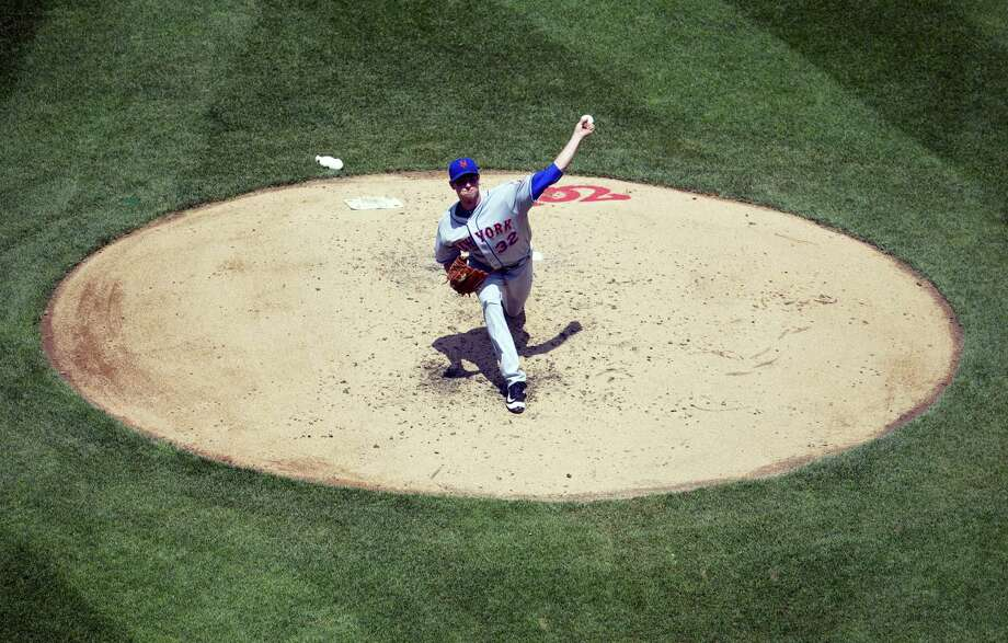 Pablo Martinez Monsivais — The Associated Press New York Mets pitcher Steven Matz throws against the Washington Nationals, during the third inning at Nationals Park, Wednesday in Washington. Photo: AP / Associated Press Wash DC