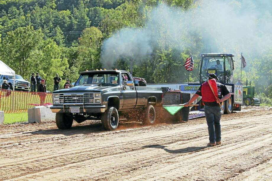 On October 2, 2016, Falls Village Volunteer Fire Dept. is pleased to bring back an exciting and fun event to Falls Village: The Falls Village Truck Pull.  For the second year, it will take place at the Falls Village Recreation Center, 108 Rte. 63, in Falls Village from noon to 5 PM. The Falls Village Truck Pull is a fun family event with vendors and lots of delicious food. Spectators are encouraged to bring a blanket or chair to view the Pull. Admission is $10 for spectators, children under 12 years of age are free. For more information, call 860-824-5861 or visit The Falls Village Truck Pull on Facebook. Photo: Journal Register Co.