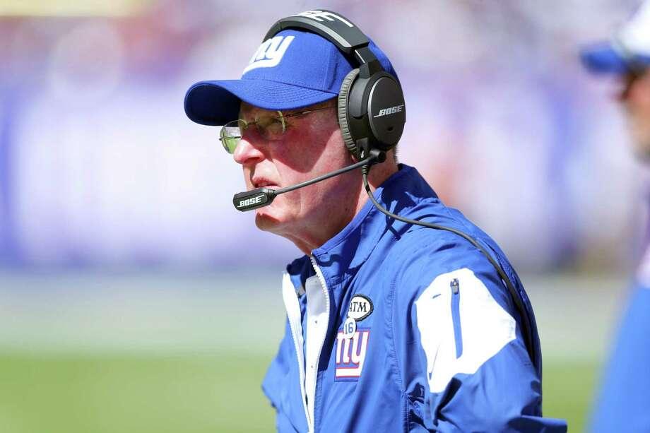 New York Giants head coach Tom Coughlin. Photo: Brad Penner — The Associated Press  / FR171375 AP