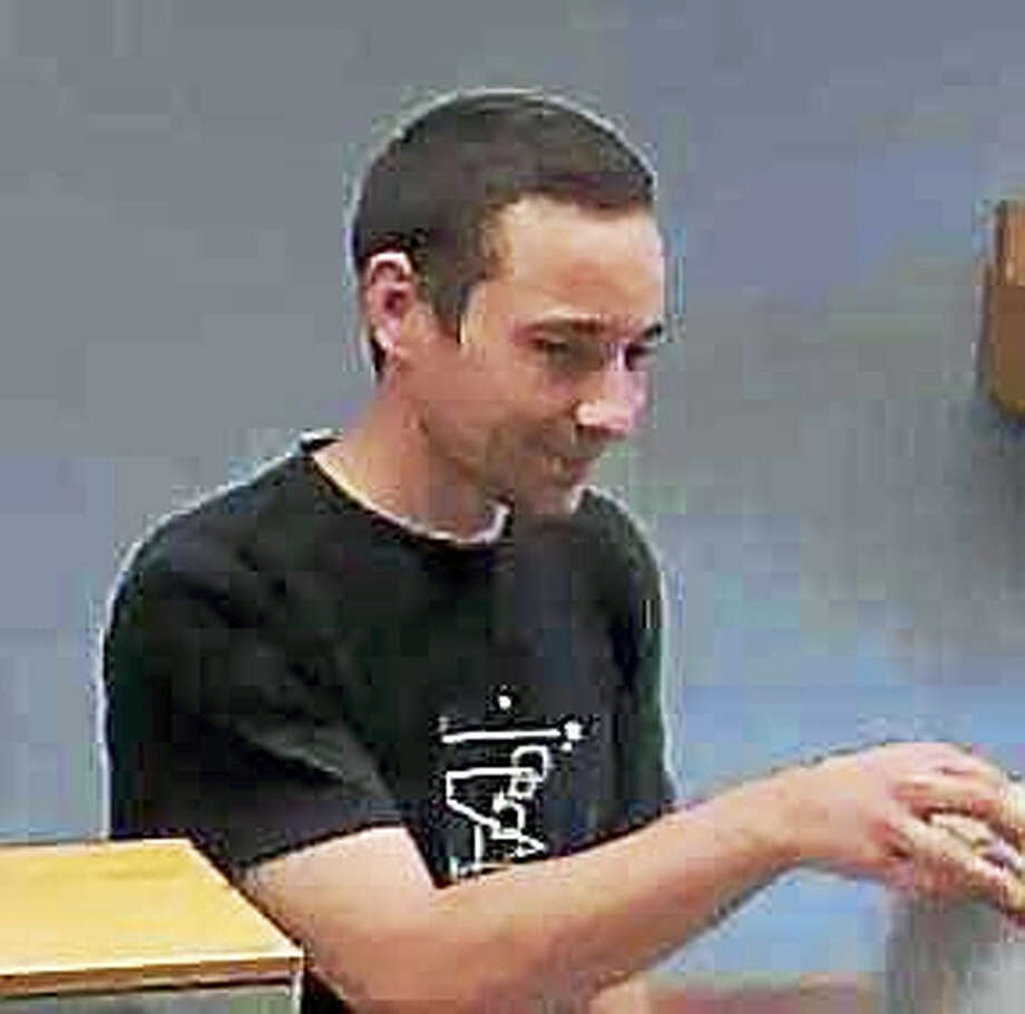 Police are looking for a man who robbed the TD Bank on New Hartford Road in Winsted on September 24, 2016. (Photo courtesy of Winsted police) Photo: Journal Register Co.