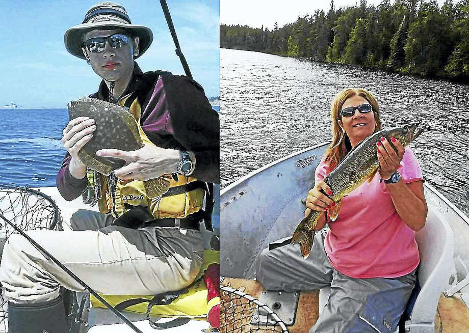 The U.S. Coast Guard and authorities in Rhode Island are searching for Nathan and Linda Carman, of Middletown, who went missing after a weekend fishing trip.  Contributed photos Photo: Journal Register Co.