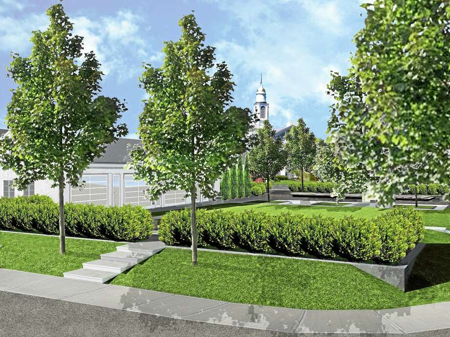 This rendering shows the plans for the PARK @ One Green Hill. Photo: Contributed