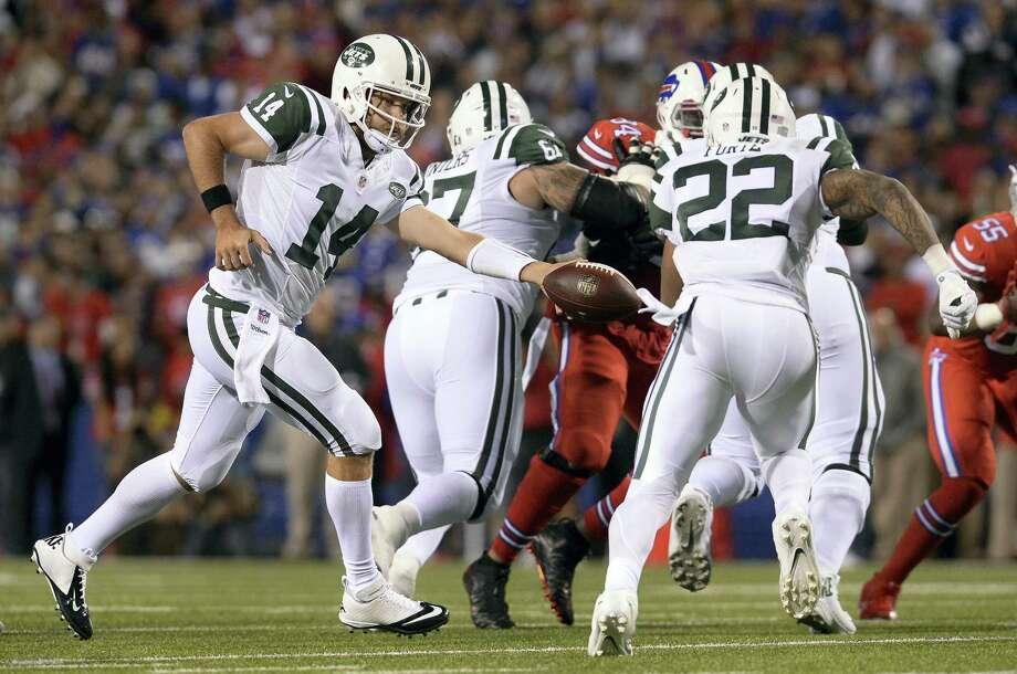 Jets quarterback Ryan Fitzpatrick. Photo: The Associated Press File Photo  / FR171451 AP